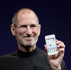 Steve Jobs (photo from Wikipedia)