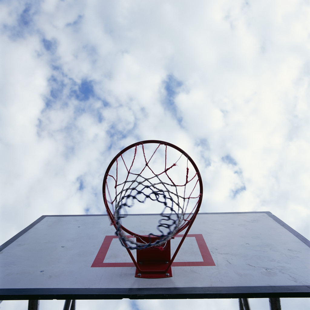 Basketball and Sky